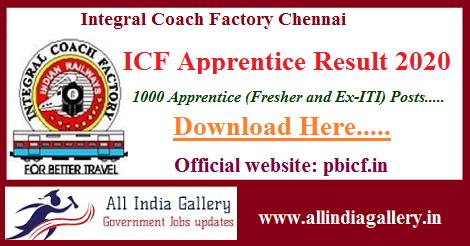 ICF Apprentice Result 2020
