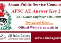 APSC AE Answer Key 2020