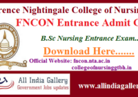 FNCON Admit Card