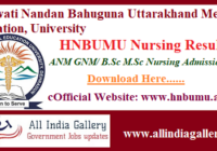 HNBUMU Nursing Result