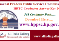 HRTC Conductor Answer Key 2020