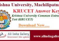 KRUCET Answer Key
