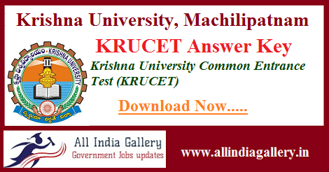 KRUCET Answer Key