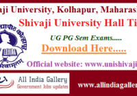 Shivaji University Hall Ticket