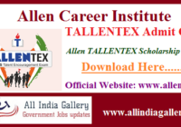 TALLENTEX Admit Card