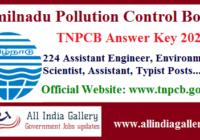 TNPCB Answer Key 2020