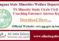 TS Minority Study Circle Answer Key