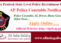 AP Police Constable Notification