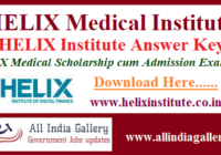 HELIX Institute Answer Key
