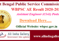 WBPSC AE Result 2020-2021