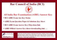 AIBE Answer Key