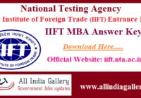IIFT MBA Answer Key
