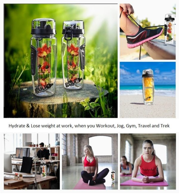 Detox when you work and workout