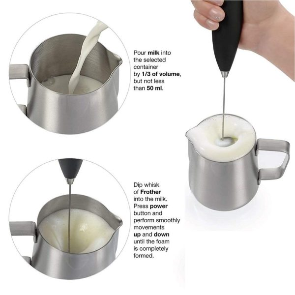 Coffee Milk Frother Whisk