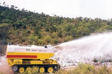 Proyectos de lucha contra-incendios y campañas de cortafuegos