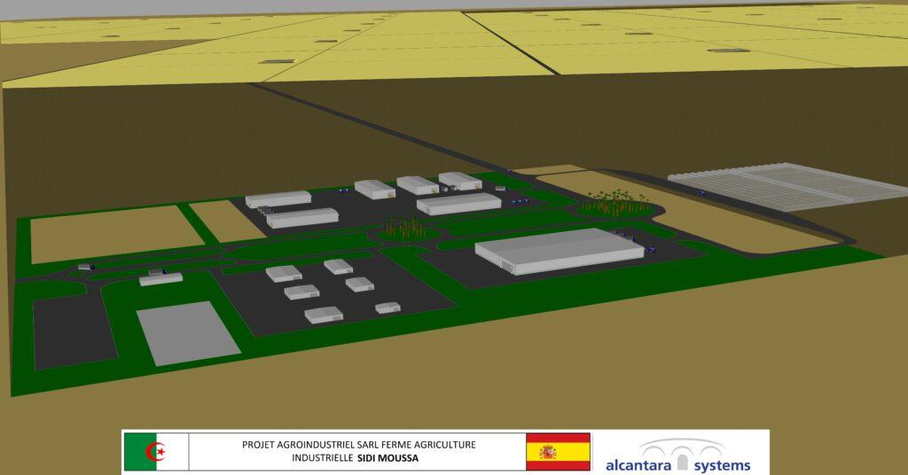 Simulación 3D del proyecto 2