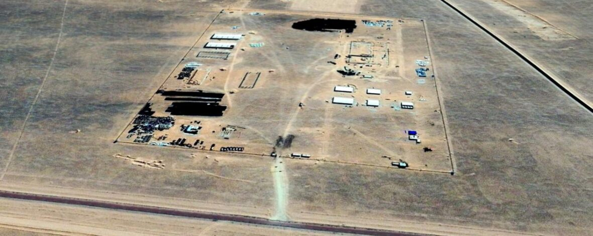 Vista aérea de la zona industrial del proyecto