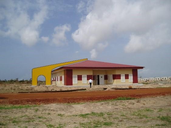 Proyecto guardería en Dakar
