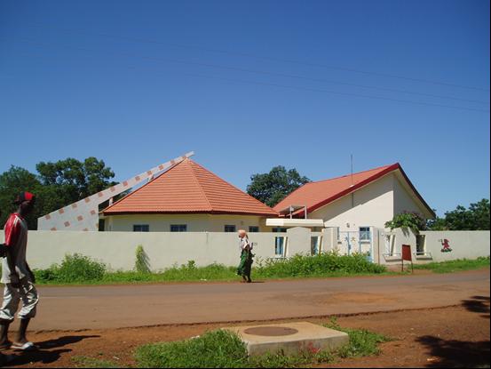 Edificios secundarios de la guardería