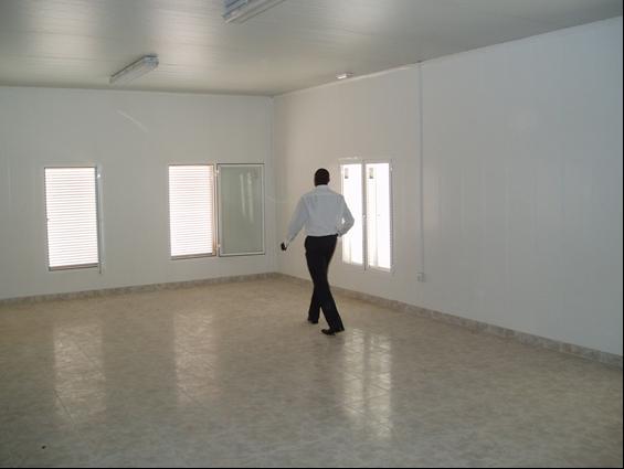 Interior de un aula de la guardería