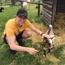 josh_and_a_goat