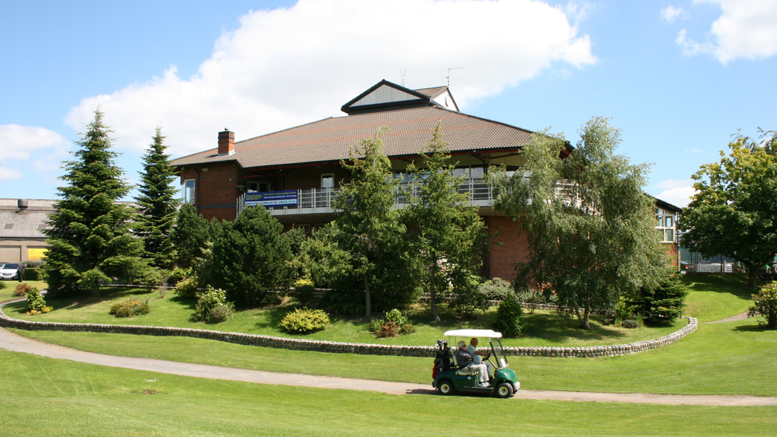 Balmoral clubhouse