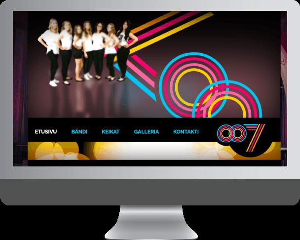 web-suunnittelun esimerkki