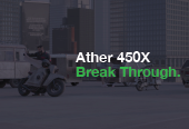 Ather 450X  Break Through.