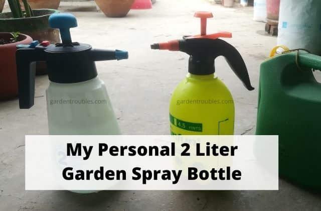 Garden Sprayer Bottle India