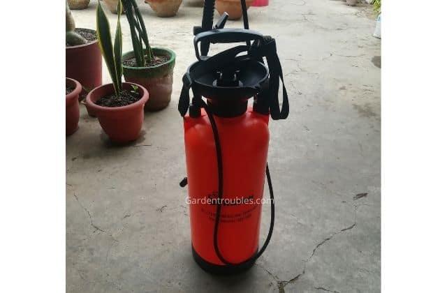 Pressure Spray Bottle 8 ltr