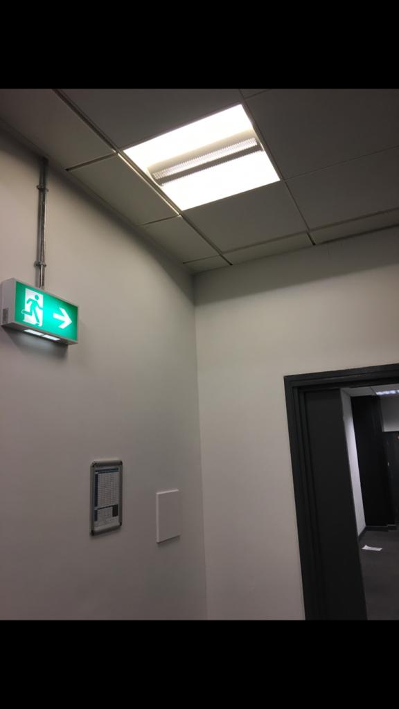 Gym Emergency Lighting