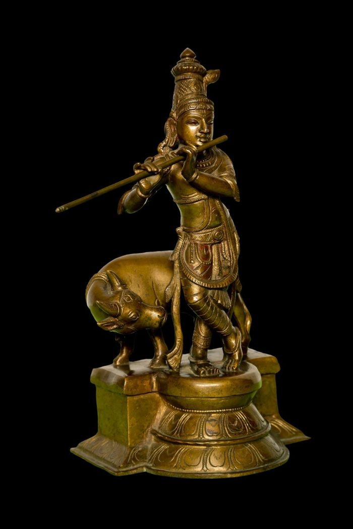 Krishna with Cow 12 Inch- Right View