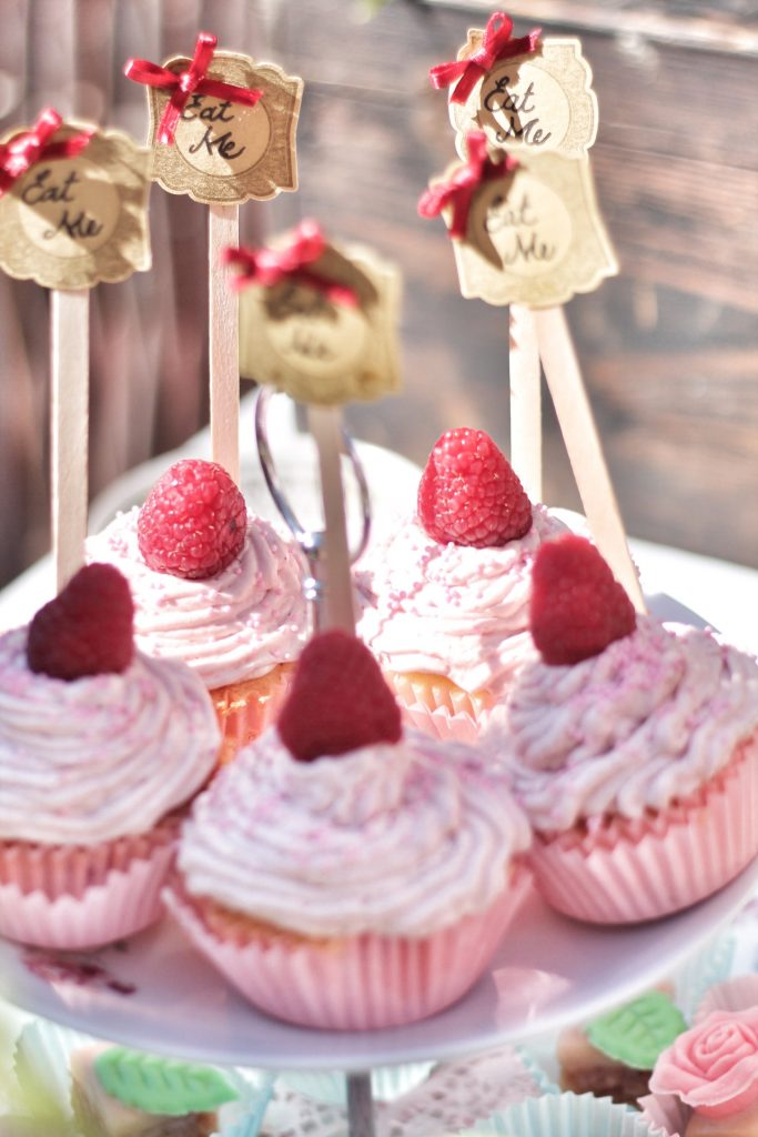 Himbeer-Prosecco-Cupcakes auf Mein wunderbares Chaos