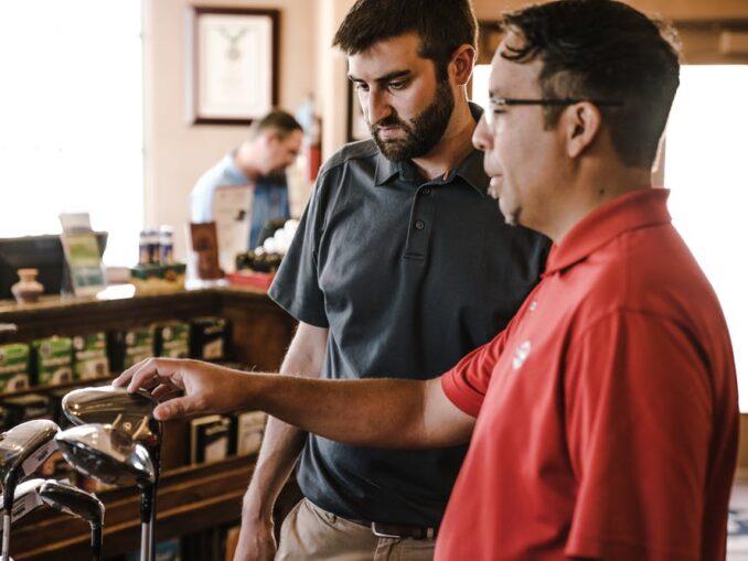 Beginners golf guise