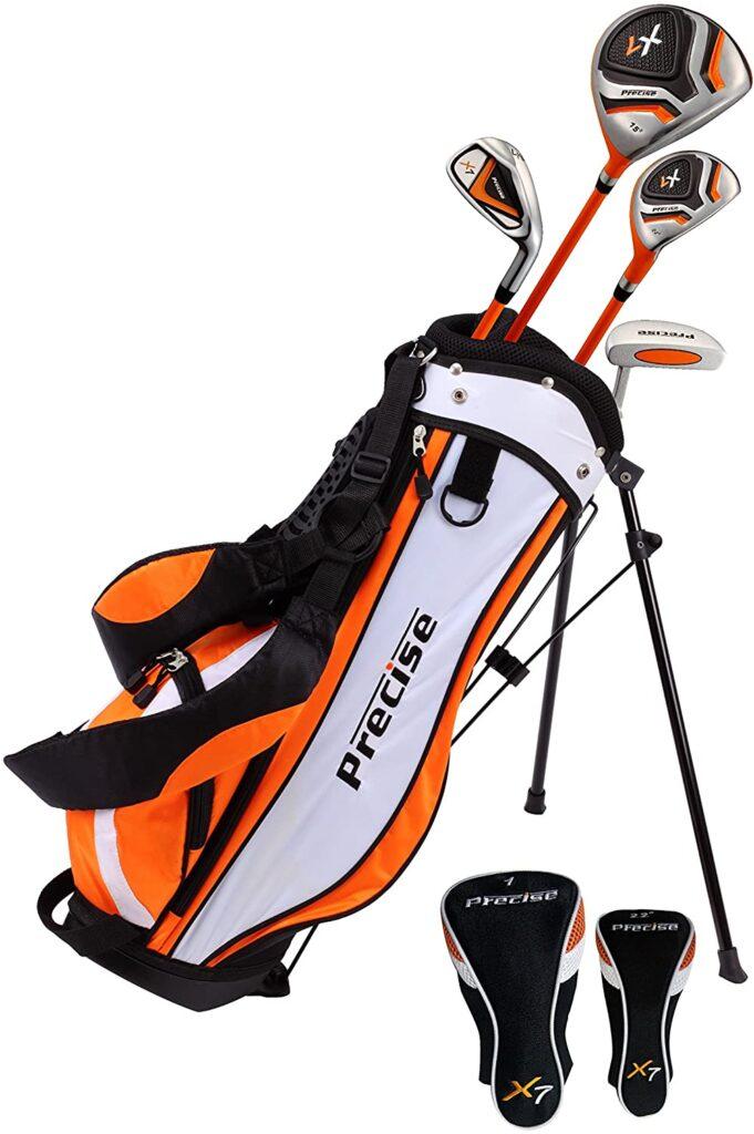 Precise golf set for junior golfers