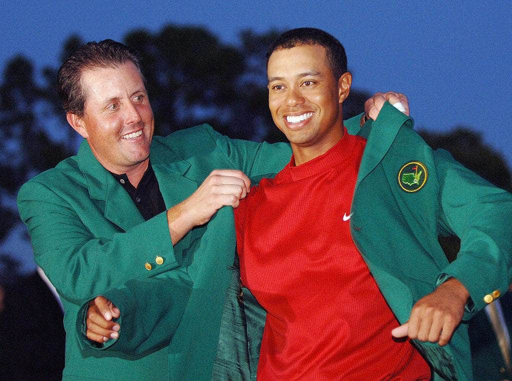 Did Woods save Golf with his rivalry with Lefty?