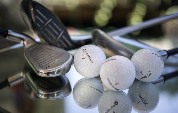 golf balls on table