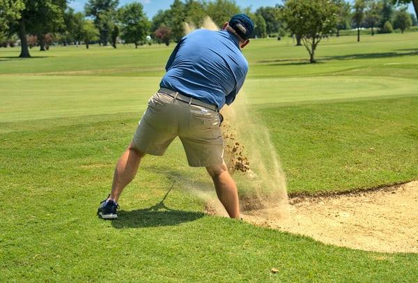Average golfer irons