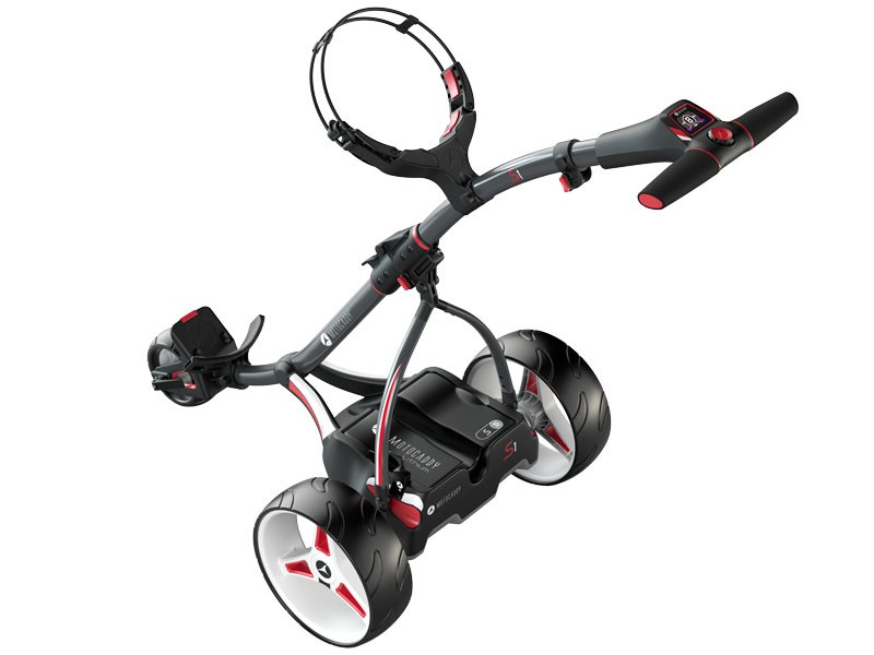 Motocaddy S1 best electric golf trolley