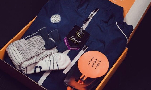 Airdrop best golf subscription box UK