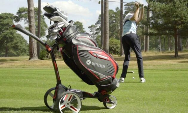 best electric golf trolley