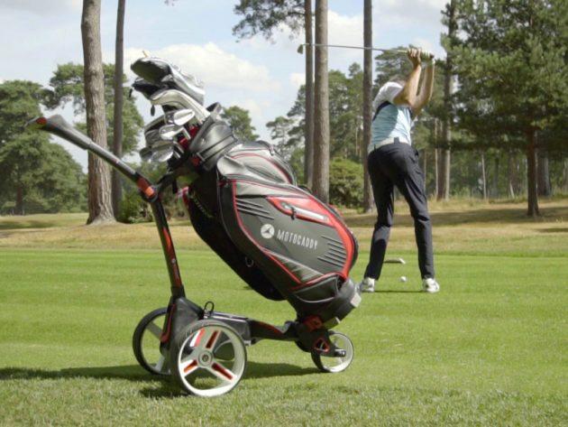 best electric golf trolley