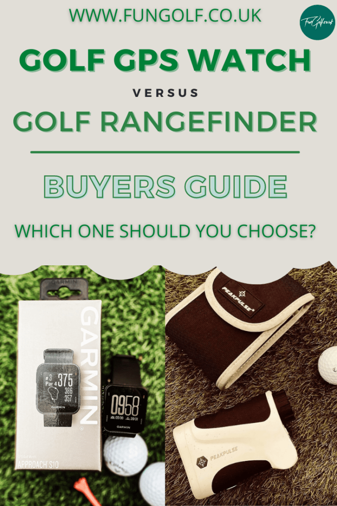 golf rangefinder vs gps watch