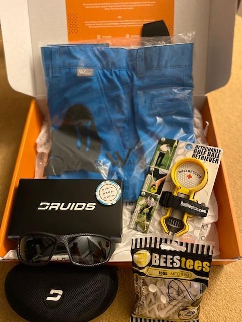 Airdrop golf july box