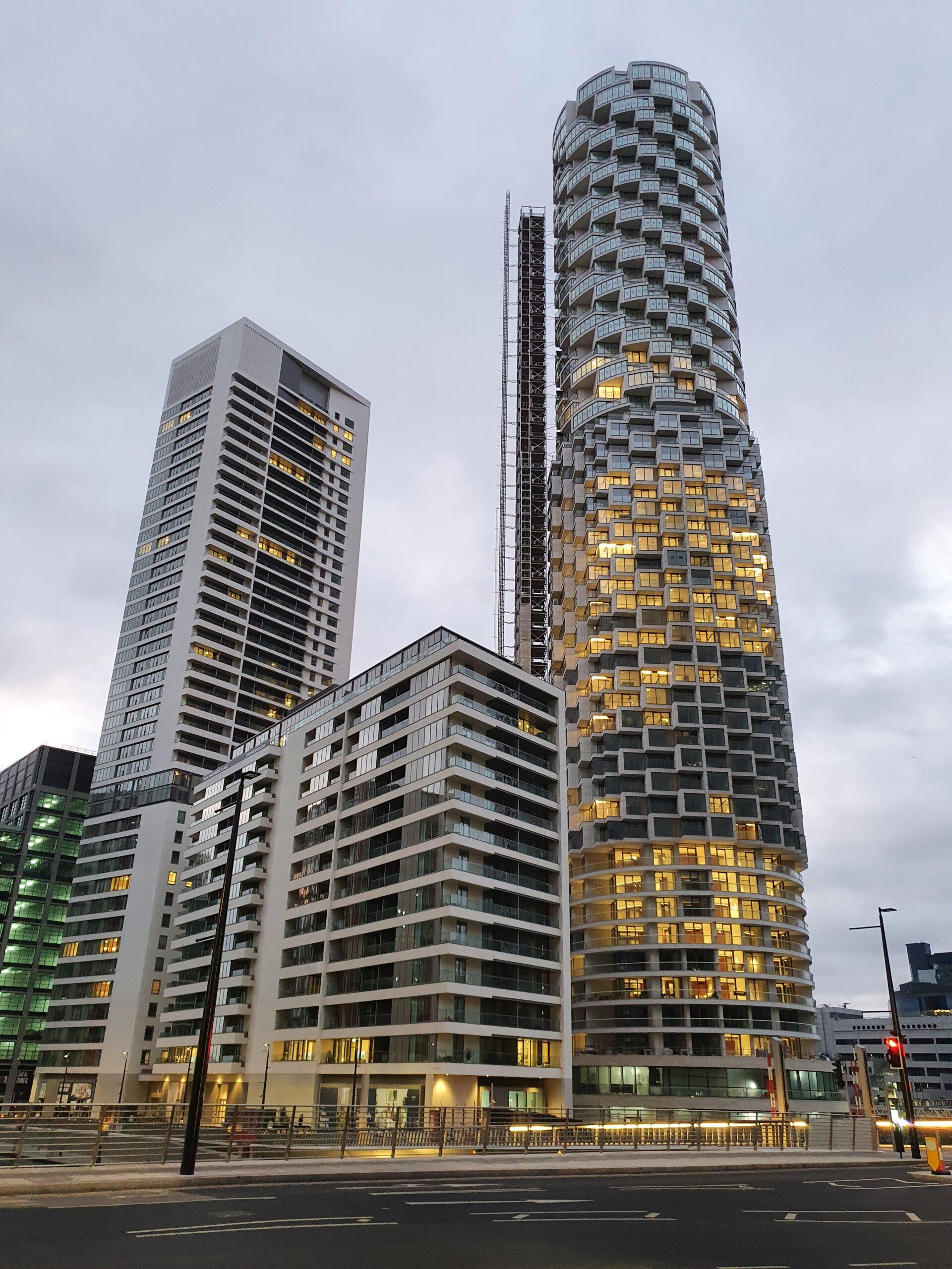 Wood Wharf Buildings