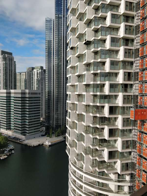 A1 Building in Wood Wharf