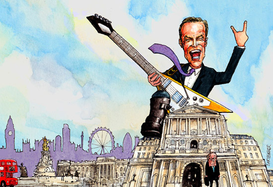 Afternoon Update - Bank Of England, singing from the same hymn sheet?