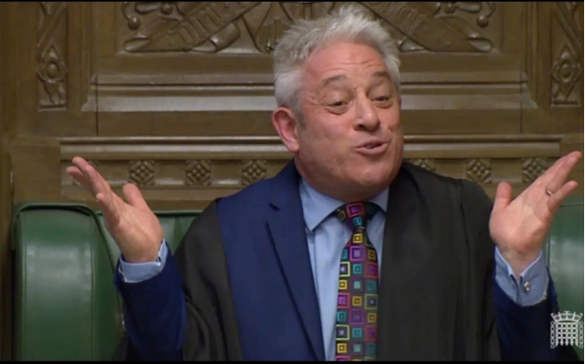 Morning Update - Bercow's Brexit Bombshell