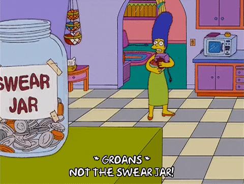 Afternoon Update - Swear/Brexit jar