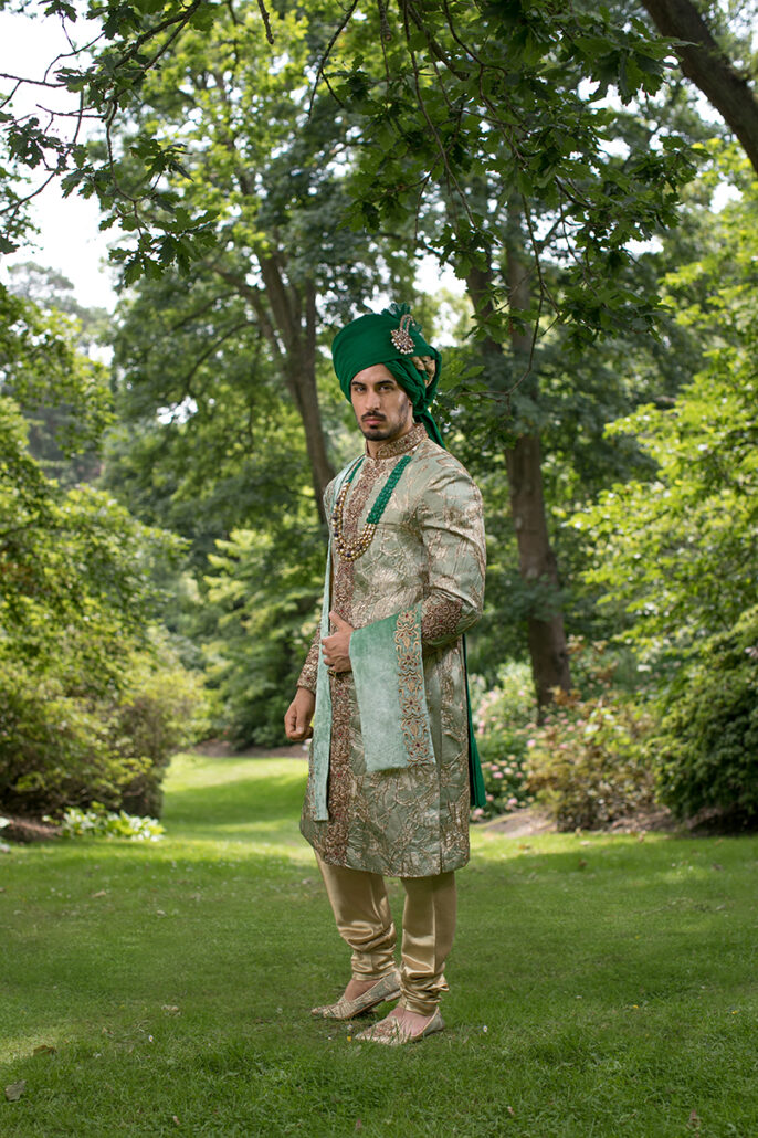 DKL-000-7 Regal Prince Groom Sherwani